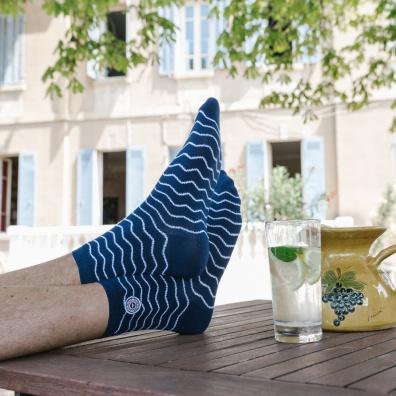 Les Lucas Vagues - Chaussettes bleues