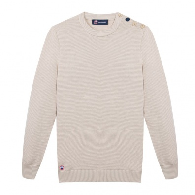 Le Cyprien naturel - Pull LSF x Saint James