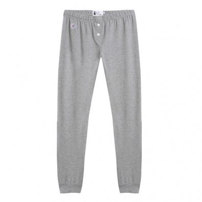La Loulou - Bas de pyjama gris chiné