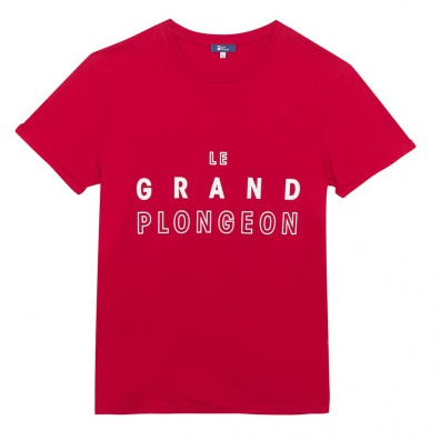 Le Jean F Grand Plongeon - T-shirt rouge