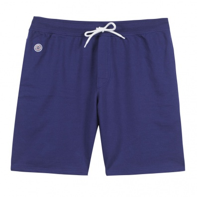 Le Henri outremer - Short molleton bleu