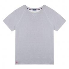 Le Tomasi - T-shirt gris molleton