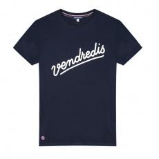 Le Jean F Vendredis marine - T-shirt homme bleu marine