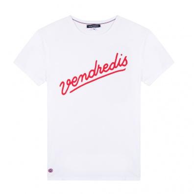 Le Jean F Vendredis blanc - T-shirt blanc