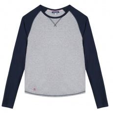 Le Bobby Gris - T-shirt raglan gris