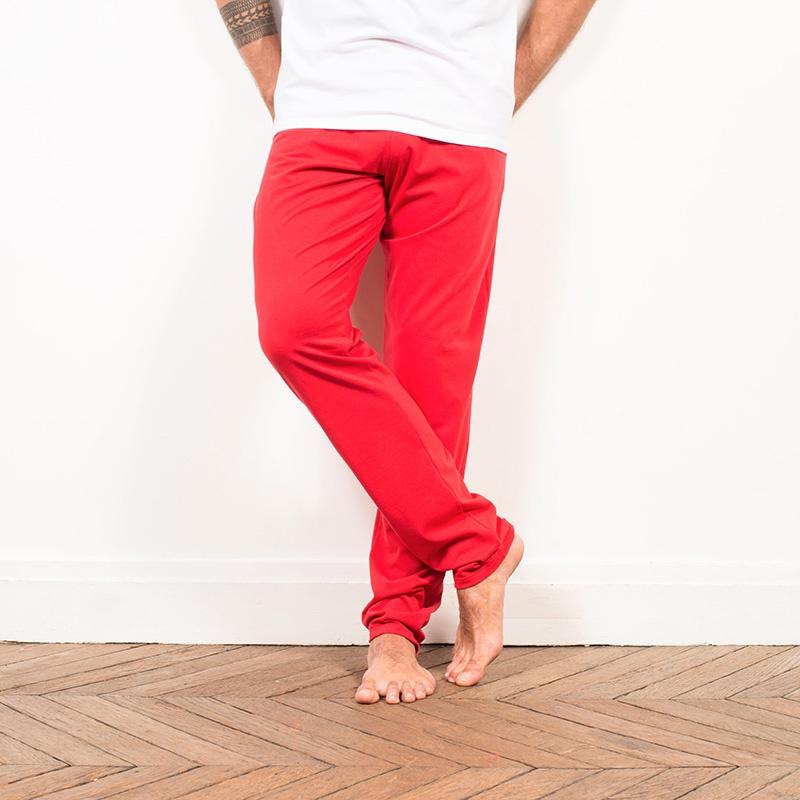 Le dodo blanc et rouge ensemble pyjama homme - Le rouge et le blanc ...