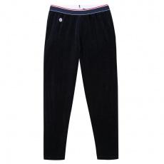 Le Toudour - Bas de pyjama bleu en velours
