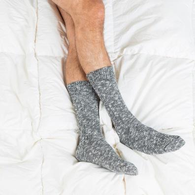 Les Martin grises - Chaussettes grises homme