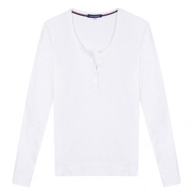 La Odile - T-shirt manches longues blanc