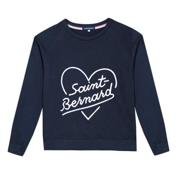 La Sophie Saint Bernard - Sweat bleu