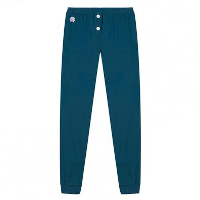 La Loulou - Bas de Pyjama bleu canard