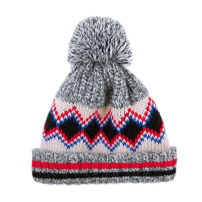 bonnet bouge ton pompon t l thon bonnet made in france. Black Bedroom Furniture Sets. Home Design Ideas