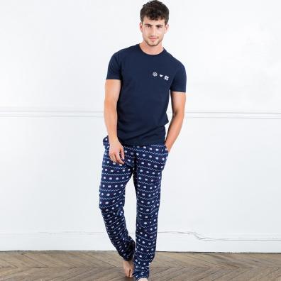 Le Dodo flocons - Ensemble pyjama imprimé flocons