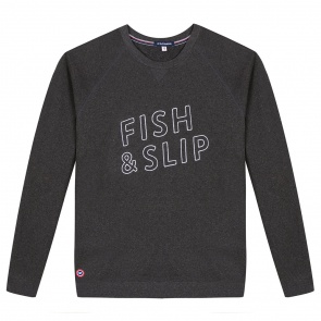 Le Victor - Sweat gris anthracite